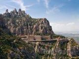 Benediktinský klášter Montserrat v Katalánsku