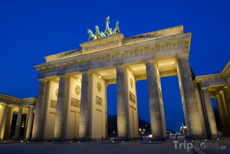 Fotka, Foto Brandenburger Tor - Berlín (Berlín, Německo)
