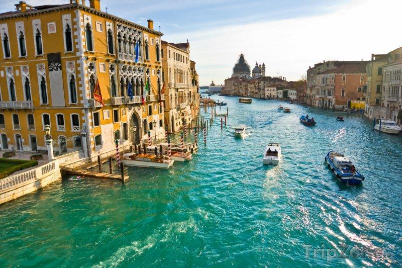 Fotka, Foto Canal Grande (Benátky, Itálie)