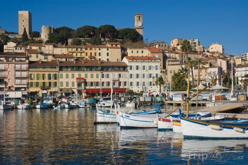 Fotka, Foto Cannes, přístav (Azurové pobřeží, Francie)