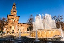 Castello Sforzesco v Miláně