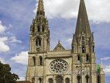 Chartres, katedrála Notre-Dame