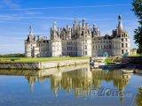 Chateau de Chambord na řece Loiře