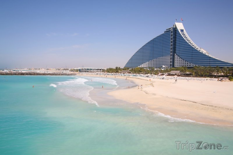 Fotka, Foto Dubaj, Jumeirah Beach Hotel (Spojené arabské emiráty)