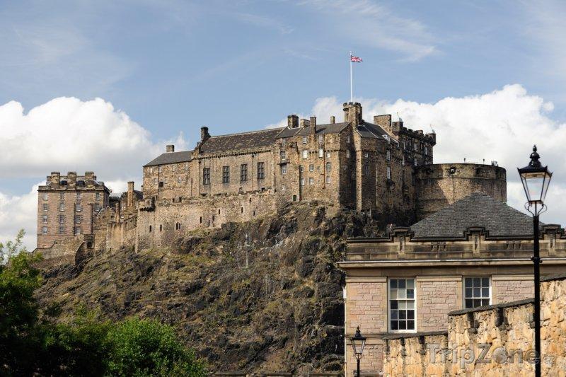 Fotka, Foto Edinburský hrad (Edinburgh, Velká Británie)