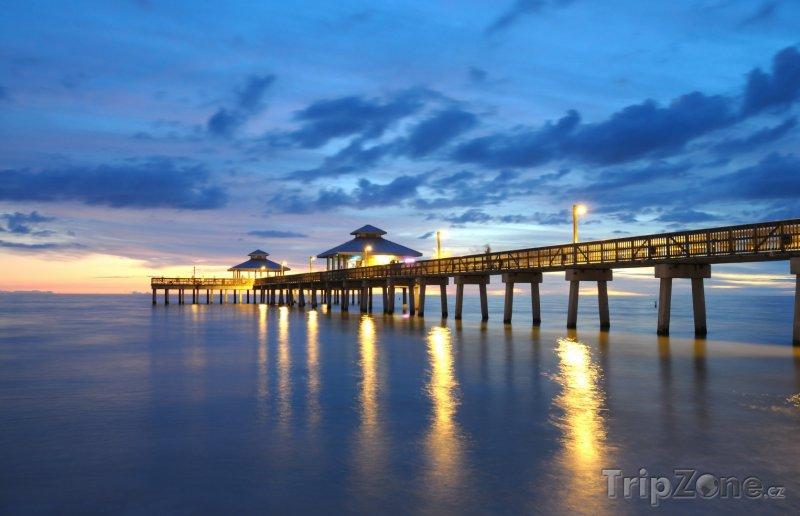 Fotka, Foto Fort Myers, západ slunce (Florida, USA)
