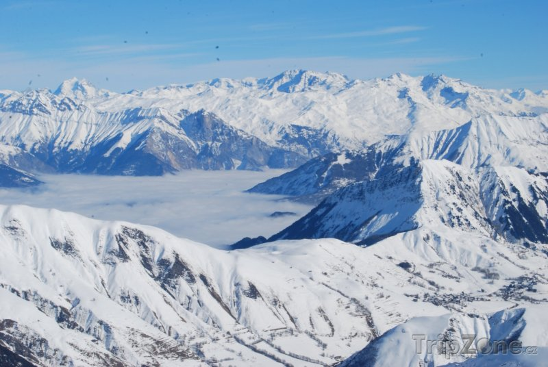 Fotka, Foto Francouzské Alpy, Les Sybelles (Les Sybelles, Francie)