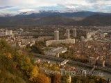 Grenoble, pohled na město