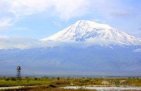 Hora Ararat na turecko-arménské hranici