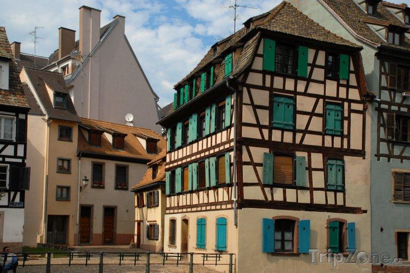 Fotka, Foto Hrázděný dům (Štrasburk, Francie)