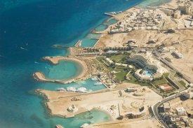 Hurghada z výšky