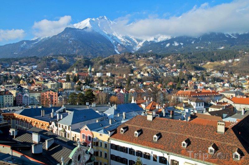 Fotka, Foto Innsbruck, panoráma (Rakousko)