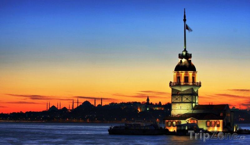 Fotka, Foto Istanbul, Kiz Kulesi (Turecko)