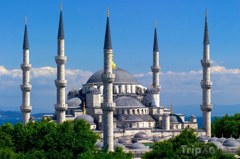 Fotka, Foto Istanbul, mešita Sultan Ahmed (Turecko)