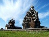 Karelské kostely na poloostrově Kiži