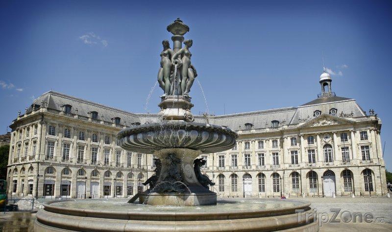 Fotka, Foto Kašna (Bordeaux, Francie)
