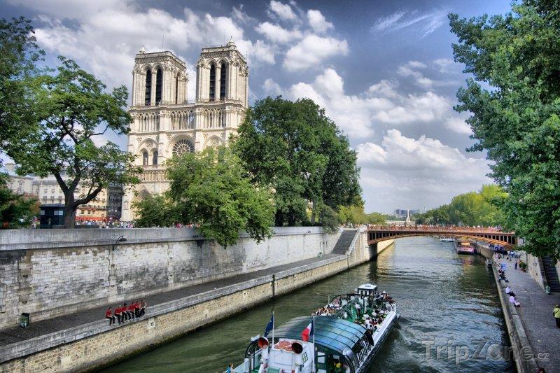 Fotka, Foto Katedrála Notre-Dame (Paříž, Francie)