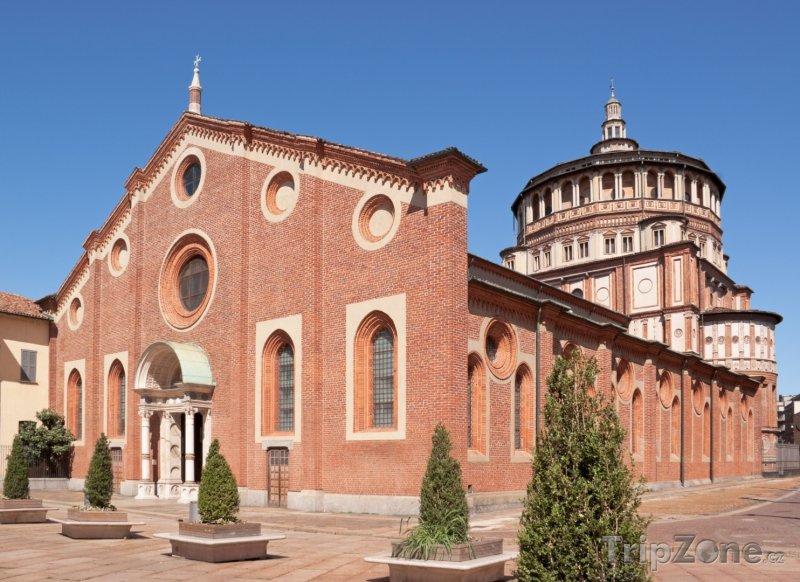 Fotka, Foto Kostel Santa Maria delle Grazie (Milán, Itálie)
