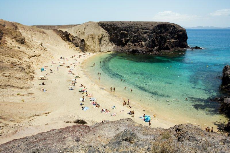 Fotka, Foto Lanzarote, pláž Papagayo (Kanárské ostrovy, Španělsko)