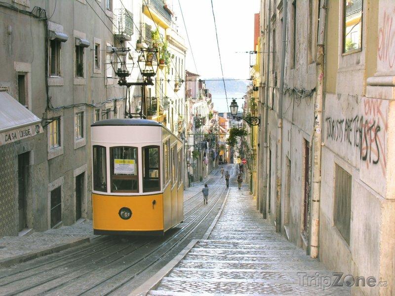 Fotka, Foto Lisabonská tramvaj (Lisabon, Portugalsko)