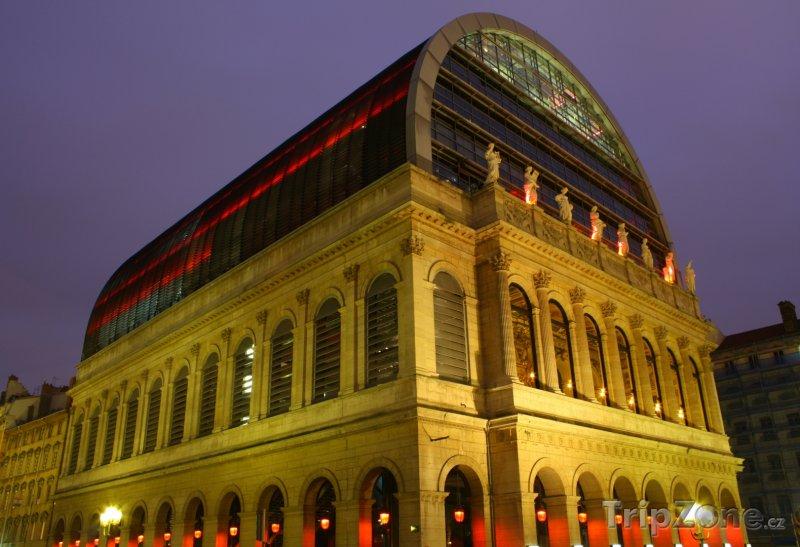 Fotka, Foto Lyonská opera (Lyon, Francie)