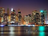 Manhattan v noci