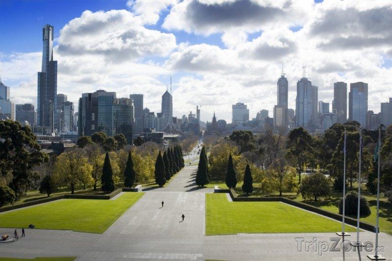 Fotka, Foto Melbourne, panorama (Austrálie)