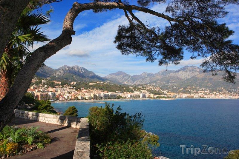 Fotka, Foto Menton (Azurové pobřeží, Francie)