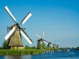 Mlýny u vesnice Kinderdijk