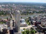 Mrakodrap Maintower ve Frankfurtu nad Mohanem