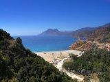 Nádherná pláž na Korsice