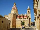 Ostrov Gozo, katedrála ve městě Victoria