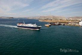 Pireus, přístav