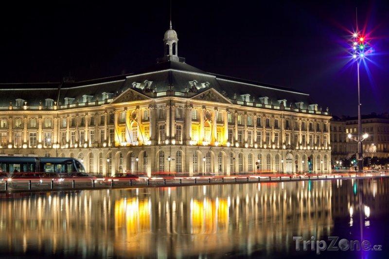 Fotka, Foto Place de la Bourse (Bordeaux, Francie)