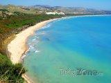 Pláž poblíž Cattolica Eraclea