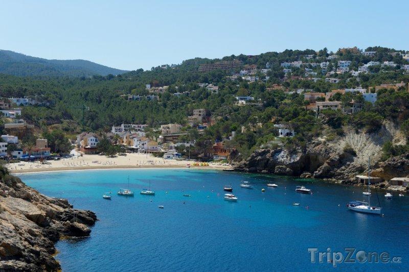 Fotka, Foto Pláž v Cala Vadella (Ibiza, Španělsko)
