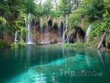 Plitvická jezera, vodopády