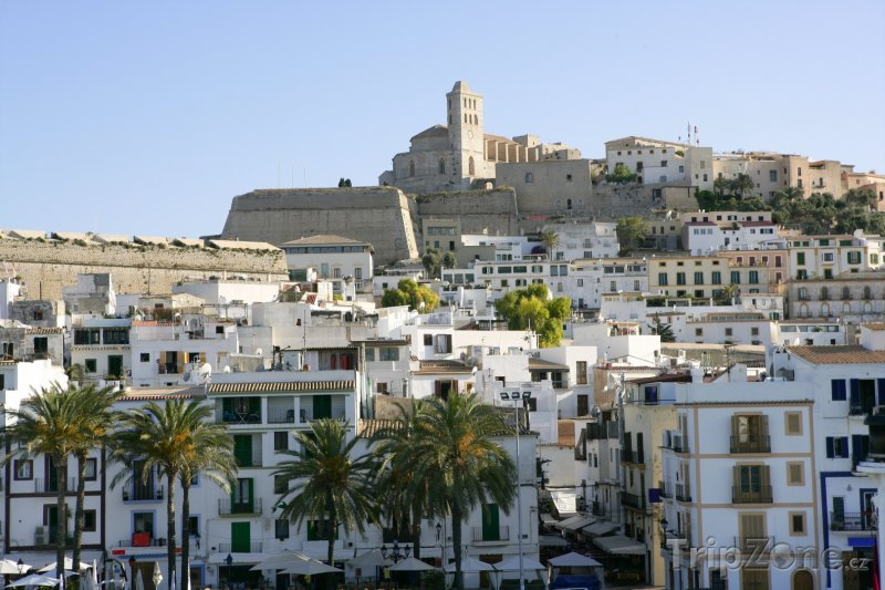 Fotka, Foto Pohled na domy (Ibiza, Španělsko)
