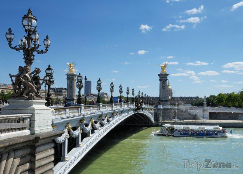 Fotka, Foto Pont Alexandre III (Paříž, Francie)