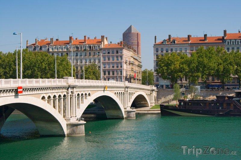 Fotka, Foto Pont Wilson (Lyon, Francie)
