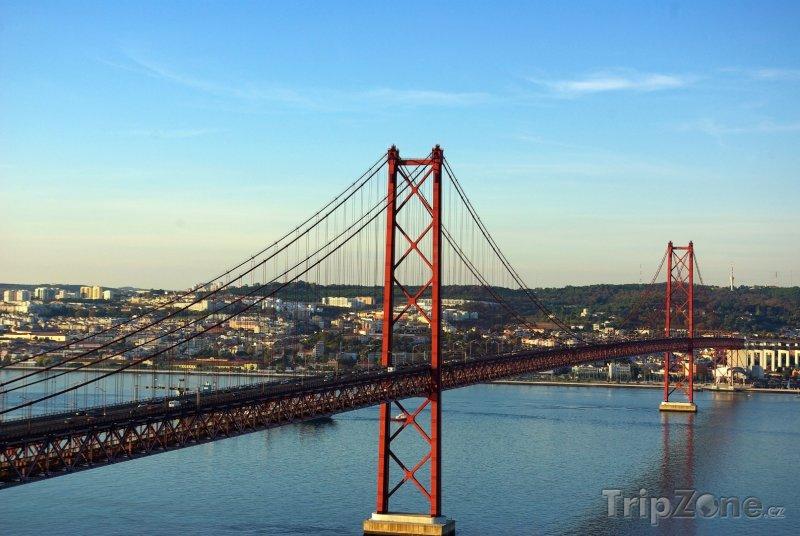 Fotka, Foto Ponte 25 de Abril (Lisabon, Portugalsko)
