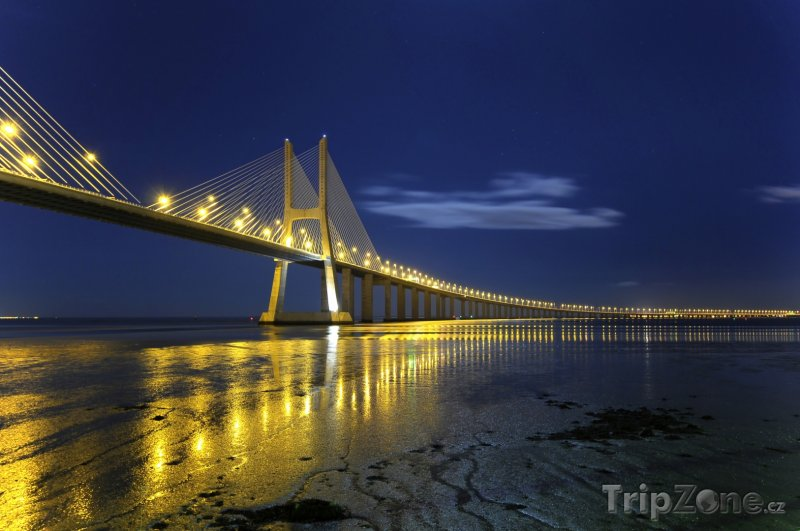 Fotka, Foto Ponte Vasco da Gama (Lisabon, Portugalsko)