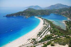 Překrásná pláž Ölüdeniz