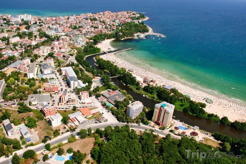 Fotka, Foto Primorsko, pohled na resort (Jižní pobřeží, Bulharsko)