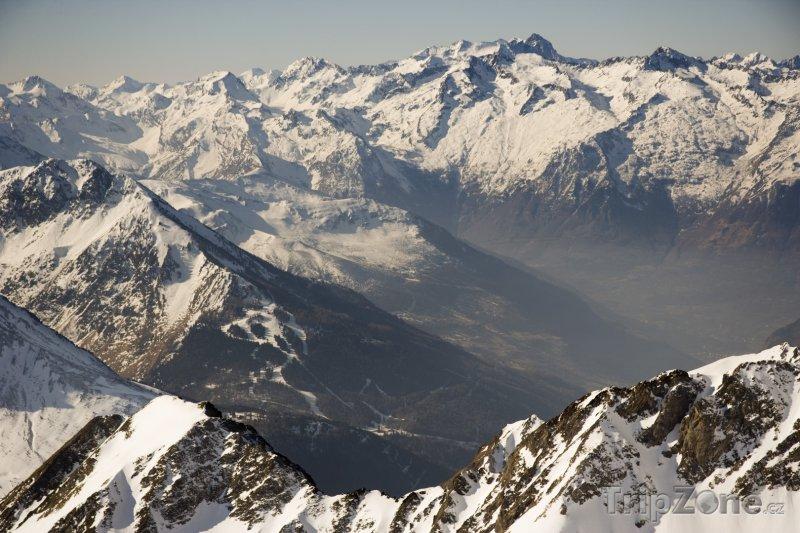 Fotka, Foto Pyreneje, pohled z Pic du Midi de Bigorre (Francie)