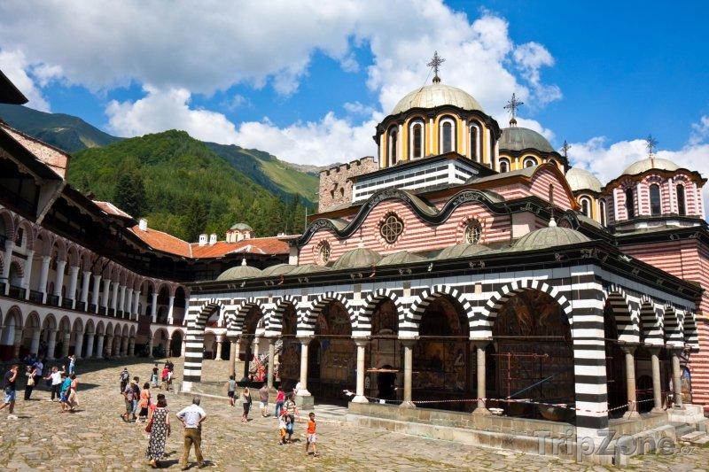Fotka, Foto Rilský klášter (Bulharsko)