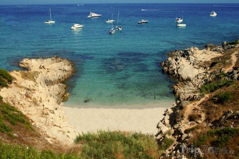 Fotka, Foto Saint-Tropez, pláž (Azurové pobřeží, Francie)