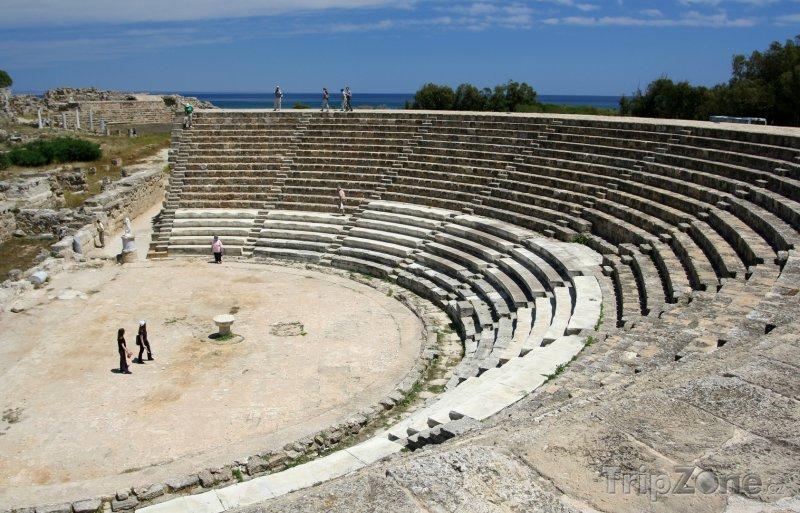 Fotka, Foto Salamis, starověké divadlo (Kypr)