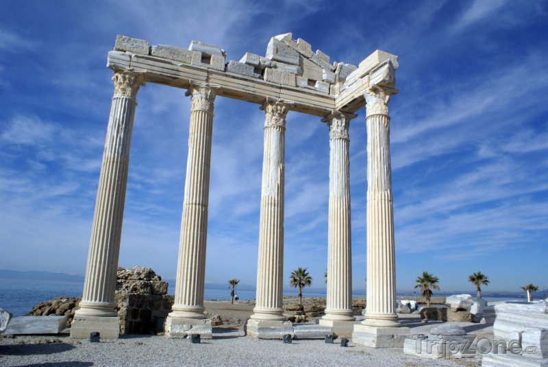 Fotka, Foto Side, Apollónův chrám (Turecká riviéra, Turecko)