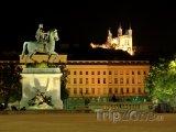 Socha Ludvíka XIV. na Place Bellecour